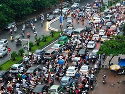 Hà Nội ban hành mức phí sử dụng đường bộ theo đầu phương tiện