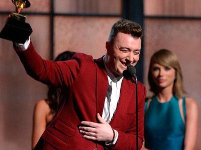 Sam Smith thắng lớn tại Grammy 2015 với bốn giải quan trọng