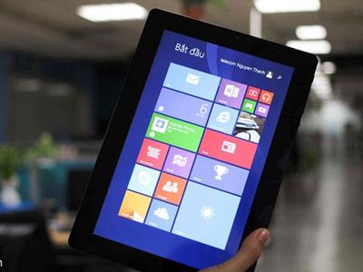 Tablet lai laptop chạy Windows 8.1 giá 5 triệu ở Việt Nam