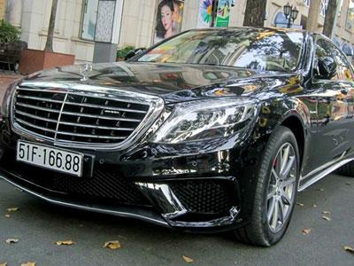 Xe sang Mercedes S63 biển đẹp, giá 9 tỷ ở Sài Gòn