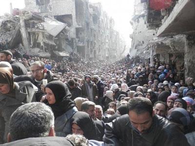 Khủng bố IS lần đầu tiên tấn công thủ đô Syria