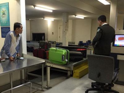 Vòi vĩnh ở sân bay quốc tế
