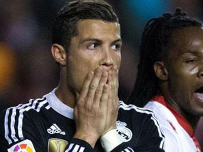 Ronaldo bị treo giò vì