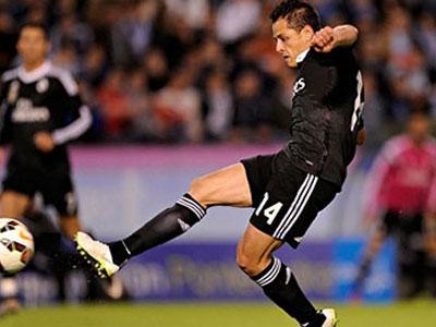 Celta Vigo 2-4 Real Madrid: Chicharito lập cú đúp, Real bám đuổi Barca