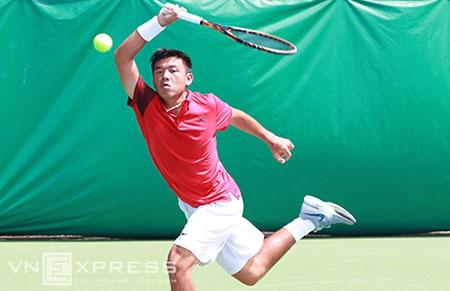 Lý Hoàng Nam thắng chớp nhoáng tay vợt đứng trên 290 bậc ATP