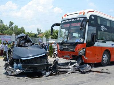 Xe khách gây ra tai nạn ở Đà Nẵng chạy 85km/ giờ