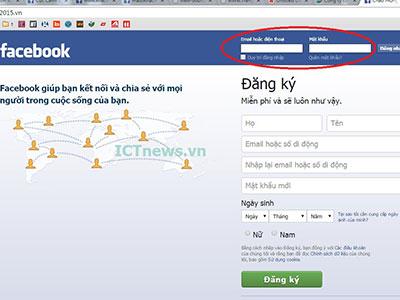Cảnh báo web giả mạo Facebook, đánh cắp tài khoản, lừa trúng thưởng