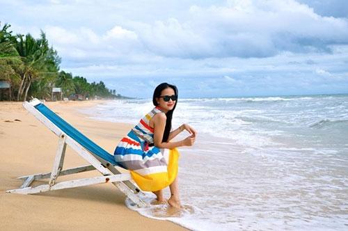 """Hình ảnh """"không thể thấy ở tivi"""" của BTV thời tiết sexy nhất Việt Nam - 5"""