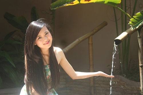 """Hình ảnh """"không thể thấy ở tivi"""" của BTV thời tiết sexy nhất Việt Nam - 6"""