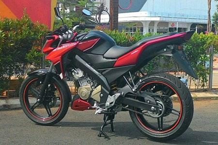 Xe côn tay Yamaha FZ150i mới trình làng