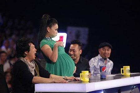 Thu Minh tạm rời ghế nóng Vietnam Idol để sinh con - 1