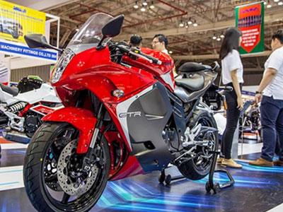 Diện kiến loạt mô tô Hàn Quốc Hyosung lần đầu đến Việt Nam