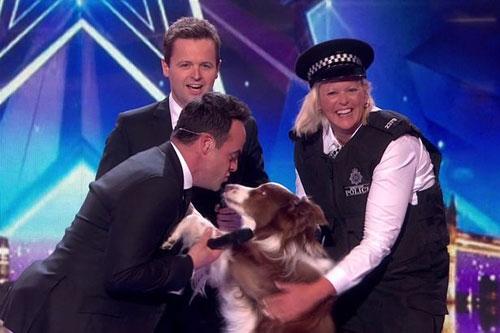 Chú chó và chủ nhân đăng quang Britain's Got Talent 2015 - 2