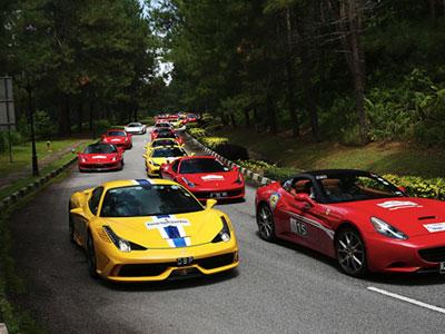 100 người chơi xe Ferrari tại Đông Nam Á tụ họp