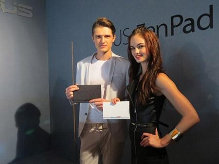 Cận cảnh ZenPad S 8.0, tablet RAM 4GB đầu tiên trên thế giới