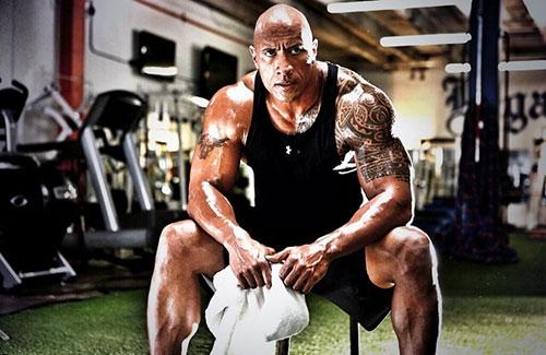 """Cơ bắp """"triệu đô"""" của tài tử Dwayne Johnson - 11"""