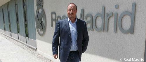 Benitez chính thức trở thành HLV trưởng Real