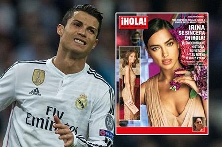 """Irina Shayk chỉ trích Cristiano Ronaldo """"không xứng đáng là ĐÀN ÔNG"""", """"lén lút NGOẠI TÌNH"""" - 1"""