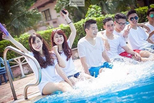 Sự thật về bộ ảnh kỷ yếu bikini của teen Hà thành - 7