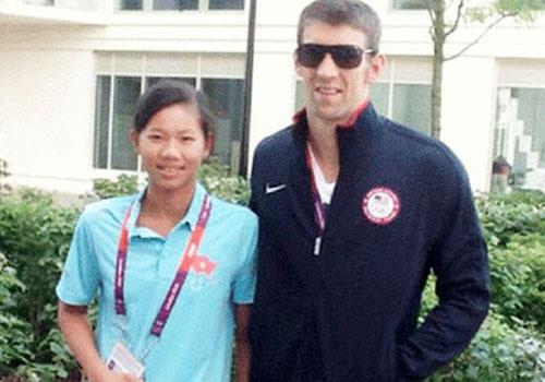 Ánh Viên có sải tay dài gần bằng… Michael Phelps - 1