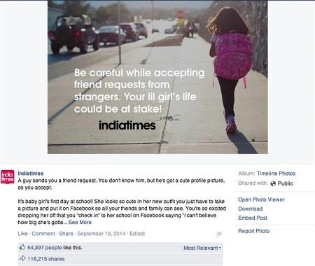 """Đoạn status khiến ai cũng giật mình: """"Đừng đăng bất cứ điều gì về con bạn lên Facebook"""" - 3"""