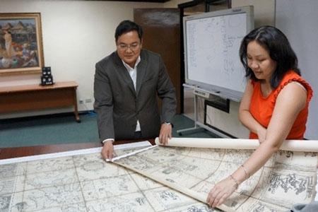 Philippines nộp bản đồ cổ lên tòa, thách thức Trung Quốc ở Biển Đông - 1