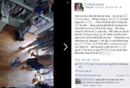 """Hà Nội: Bị bắt tại trận khi ăn trộm iPhone, """"nữ đạo chích"""" sợ đến mức tiểu ra quần"""