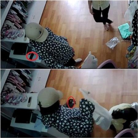 """Hà Nội: Bị bắt tại trận khi ăn trộm iPhone, """"nữ đạo chích"""" sợ đến mức tiểu ra quần - 1"""