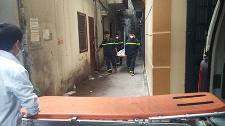 Cháy lớn ở phố Hoàng Mai, Hà Nội, 5 người chết - 1
