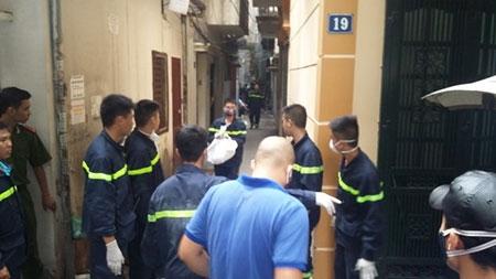 Cháy lớn ở phố Hoàng Mai, Hà Nội, 5 người chết - 2