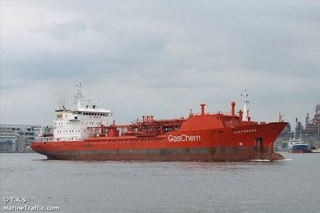 Tàu chở khí đốt Malaysia mất tích ngoài khơi phía nam Việt Nam