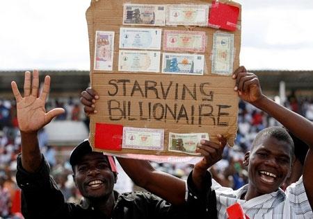 Chuyện mất giá kỷ lục của đồng đôla Zimbabwe