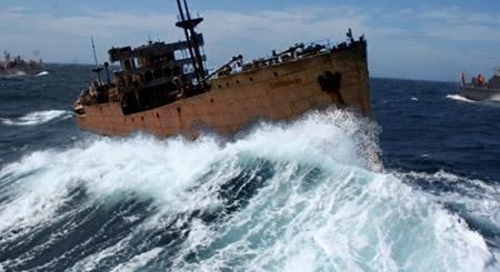 """""""Tàu ma"""" trở về sau gần 100 năm mất tích ở """"tam giác quỷ"""" Bermuda"""