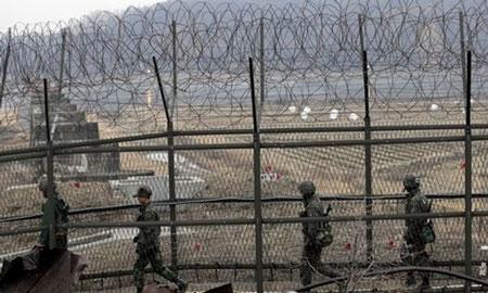 Triều Tiên đặt mìn dọc biên giới đề phòng binh sĩ bỏ trốn