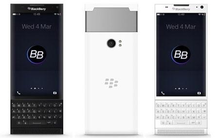 BlackBerry Venice chạy Android ra mắt tháng 11