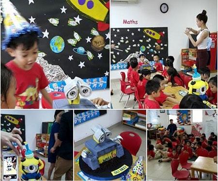 Hà Hồ dự sinh nhật sớm của con trai