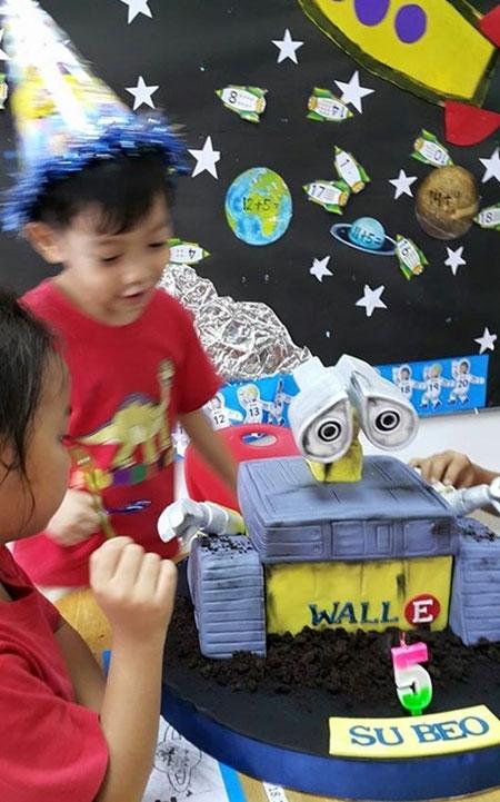 Hà Hồ dự sinh nhật sớm của con trai - 1