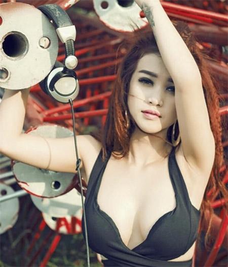 10 cô gái hot nhất cuộc thi Miss DJ - 6