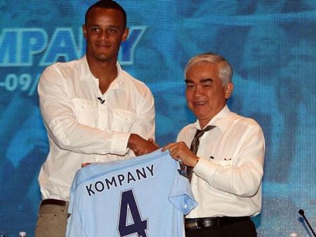 Manchester City giao hữu với tuyển Việt Nam ngày 27/7