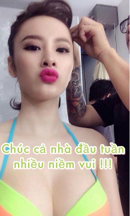 """Angela Phương Trinh - """"Nữ hoàng tự sướng"""" đẳng cấp cao của showbiz Việt - 8"""