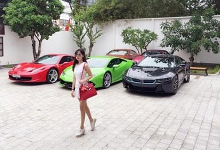 """BST siêu xe """"khủng, độc"""" 100 tỷ đồng của chồng đại gia Midu"""