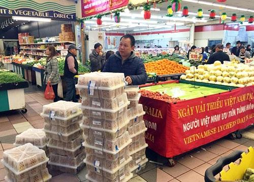 300 kg vải Việt bán lẻ hết sau 1 giờ tại Australia - 7