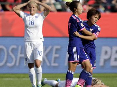 Tuyển nữ Nhật Bản kết thúc giấc mơ của tuyển Anh