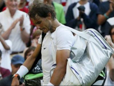 Rafael Nadal dừng bước ở vòng 2 Giải Wimbledon