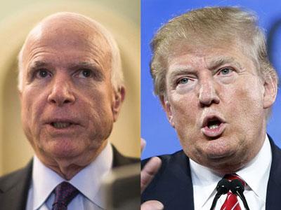 McCain yêu cầu tỷ phú Trump xin lỗi về phát ngôn coi thường