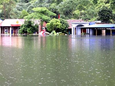 Nước dâng cao, xã đảo ở Hải Phòng biến thành biển hồ