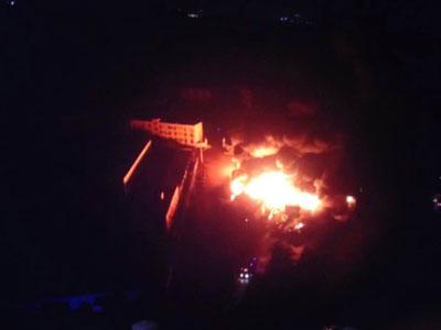 Trung Quốc lại xảy ra cháy lớn sau vụ nổ Thiên Tân