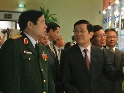 Chủ tịch nước và 2 đại tướng dự lễ kỷ niệm ngành ngoại giao