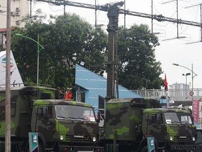 Quân đội Việt Nam giới thiệu nhiều trang bị hiện đại