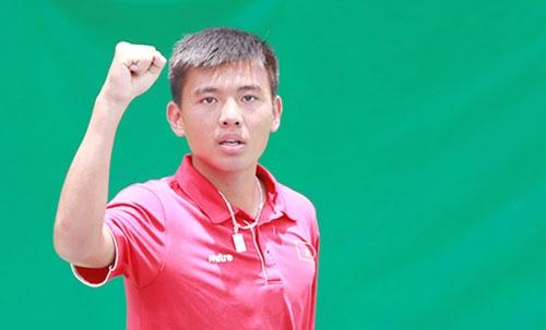Lý Hoàng Nam tăng 255 bậc ATP